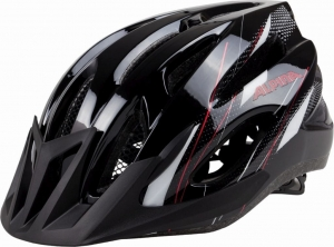 KASK ALPINA MTB17 BLACK-WHITE-RED